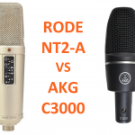 AKG C3000 / RODE NT2-A 初心者コンデンサーマイク比較!