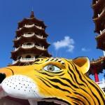 [台湾]高雄市の蓮池潭(れんちたん)にある龍虎塔に行って来ました!