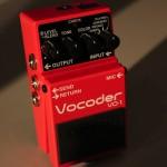 BOSS VO-1 VOCODERの音質と使い方をレビュー!【ボコーダー】