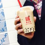 """台湾カフェ""""春水堂""""のタピオカミルクティーを飲んでみた"""