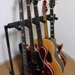 ギターの複数立てスタンド WARWICKロックスタンドの長所と短所まとめ