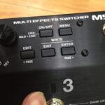 MS-3【BOSS】スイッチャー兼マルチエフェクターの新ジャンル!!
