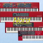【NORD】Electro,Lead,Stage,Piano機種ごとの違いをまとめます!