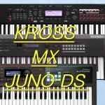 JUNO-DS/KROSS/MX バンド用キーボード徹底比較!【どれ買えばいいのー!?】