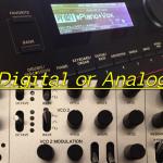 デジタルシンセとアナログシンセの違い