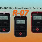 R-07ハンディレコーダーは初心者にこそおすすめ!【Roland】