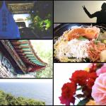 江ノ島に海鮮食べに行ったら洞窟にも行けて富士山も観れてがっつり観光出来た話。エスカー(笑)