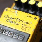 BOSS OS-2 オーバードライブディストーションのレビューと紹介!