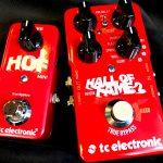 TC Electronic/Hall of Fame2現代版万能リバーブエフェクターのレビュー!【HOF miniとの比較も】