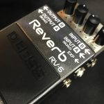 BOSS/RV-6多彩でコンパクトで安い!ギター用リバーブエフェクターの決定版!
