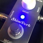 MOOER/ShimVerb 最安のシマーリバーブペダルのレビュー!
