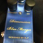 One control/Dimension Blue Monger コーラス+フランジャー的なエフェクターのレビュー!