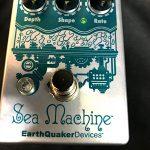 EarthQuaker Devices/Sea Machineコーラスが規格外すぎて面白いのでレビュー!