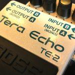 BOSS/TE-2 Tera Echoリバーブのレビュー!