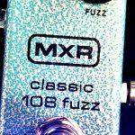 【ジミヘンのファズフェイス!】MXR/108Classic Fuzz miniのレビュー!