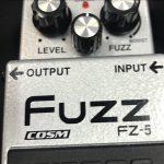 BOSSのデジタルファズFZ-5のレビュー!
