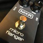 MXR/MicroFlanger定番アナログフランジャーのレビュー!