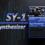 BOSS SY-1シンセサイザー発表!