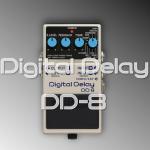 BOSS DD-8最新デジタルディレイ発表!【DD-7との違いも】
